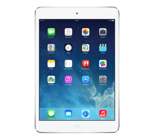 white ipad mini repair