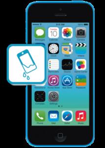 iphone 5c water damage