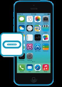 iphone5c broken charging port