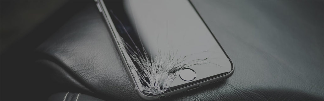 iphone screen cracked